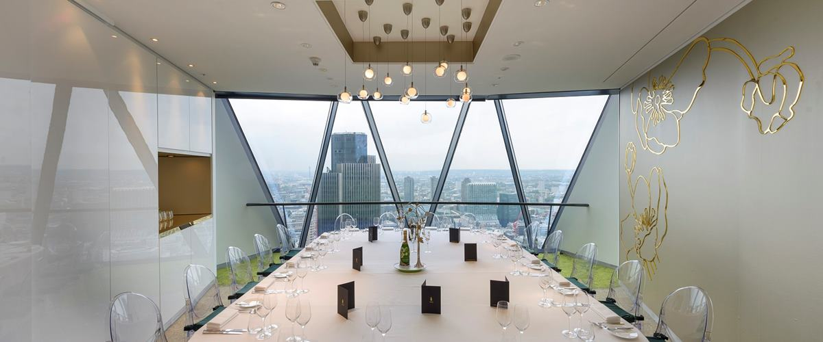 Photo of Perrier-Jouët Dining Room at Searcys|The Gherkin