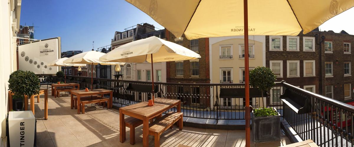 Taittinger terrace theatre royal drury lane for Terrace theatre