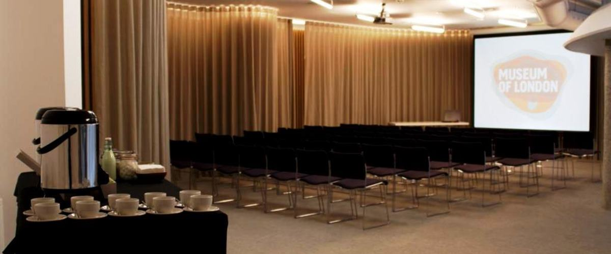 Garden room events hire museum of london for London garden rooms