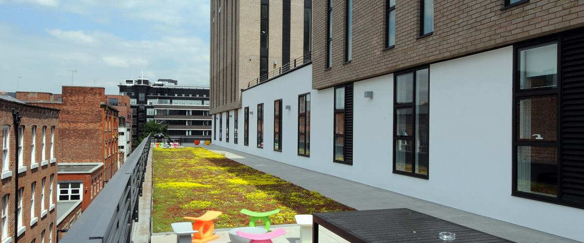 Roof terrace business hire thestudio manchester for Terrace nq manchester