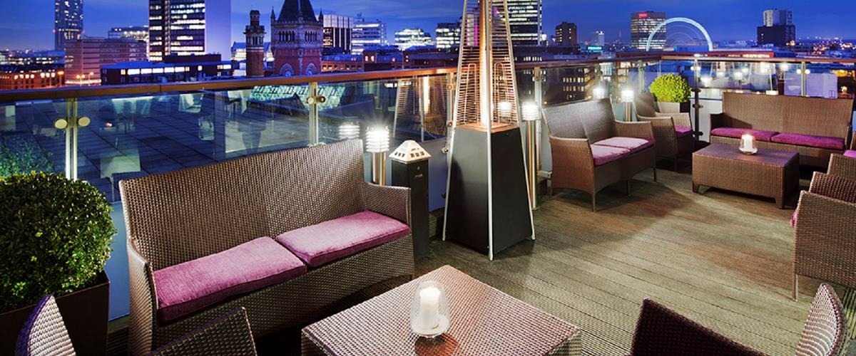 Skylounge Dining Doubletree By Hilton Manchester