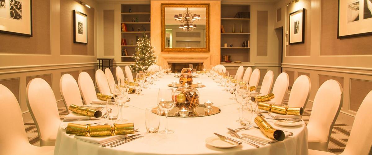 Drawing Room Dining Hire Hyatt Regency Birmingham