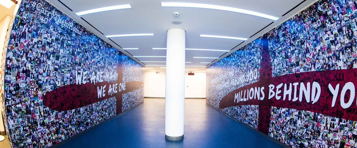 Twickenham Stadium Parking >> Player's Tunnel and Pitch-Side | Twickenham Stadium