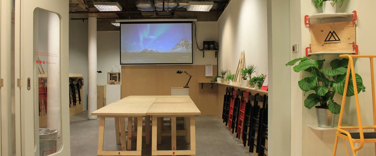 Photo of The fusion lab at Makerversity
