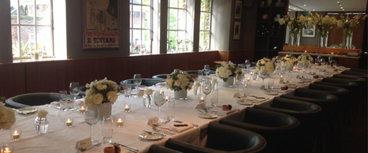 The Beaufort Room At Bluebird Chelsea London