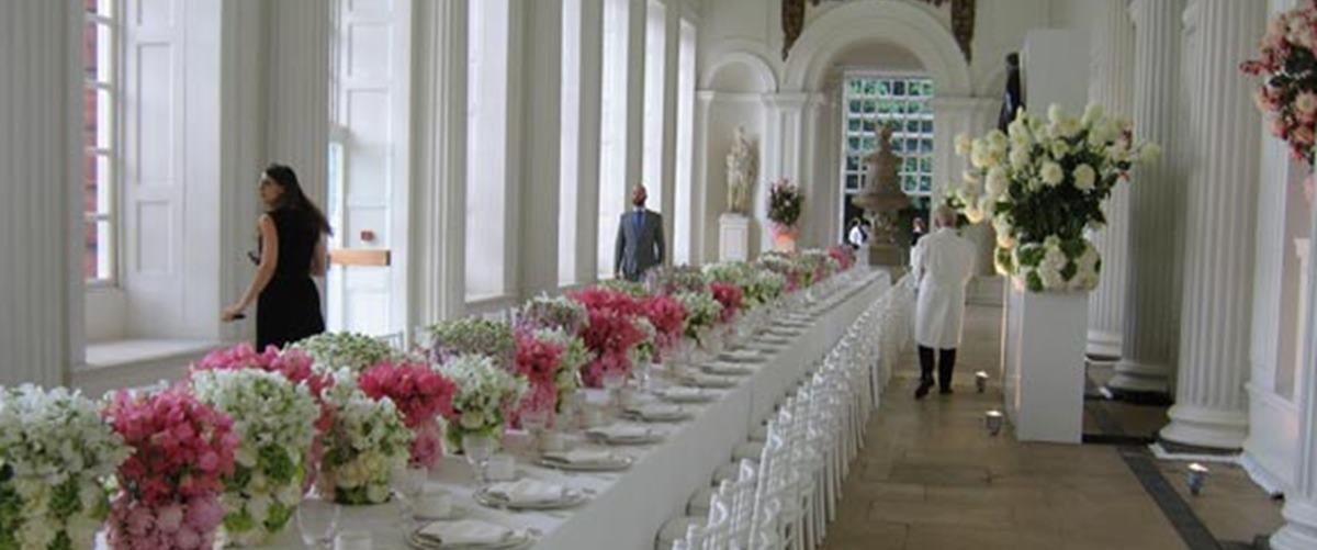 The Orangery Weddings Hire Kensington Palace