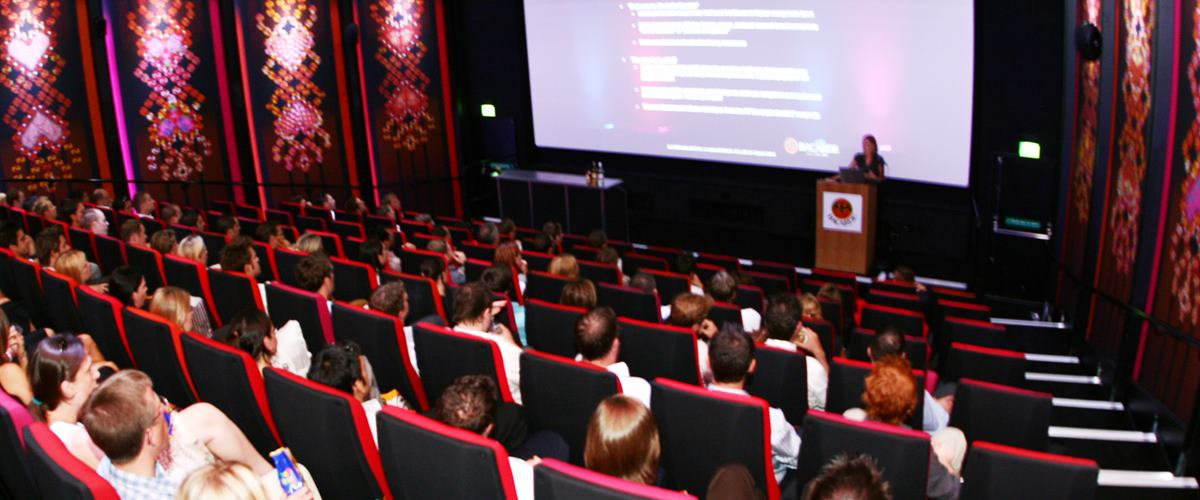 Boutique Cinema Screens Events Hire Rich Mix