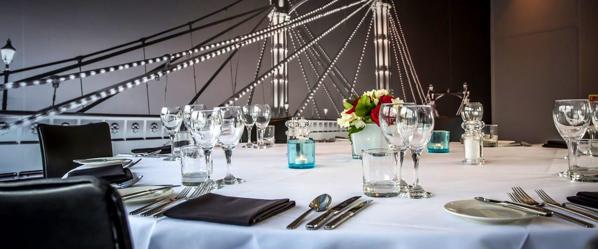 Harmony Dining Hire Bateaux London Hire Space