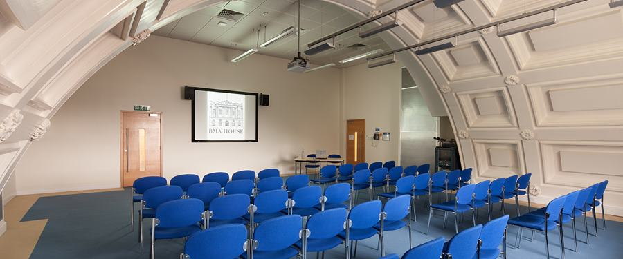 Hire Space - Venue hire William Harvey room at BMA House