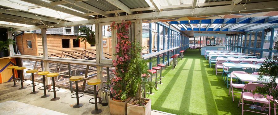 Hire Space - Venue hire Mezzanine at Dinerama