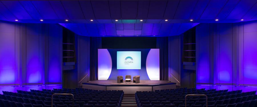 Hire Space - Venue hire Auditorium at Olympia London Conference Centre