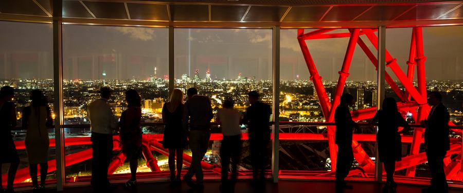 Hire Space - Venue hire ArcelorMittal Orbit at ArcelorMittal Orbit