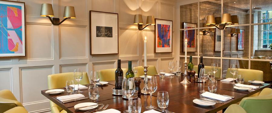 Hire Space - Venue hire Grubb Street Private Room at Chiswell Street Dining Rooms