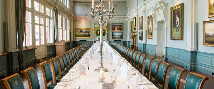 Hire Space - Venue hire The Long Room at Lord's Cricket Ground