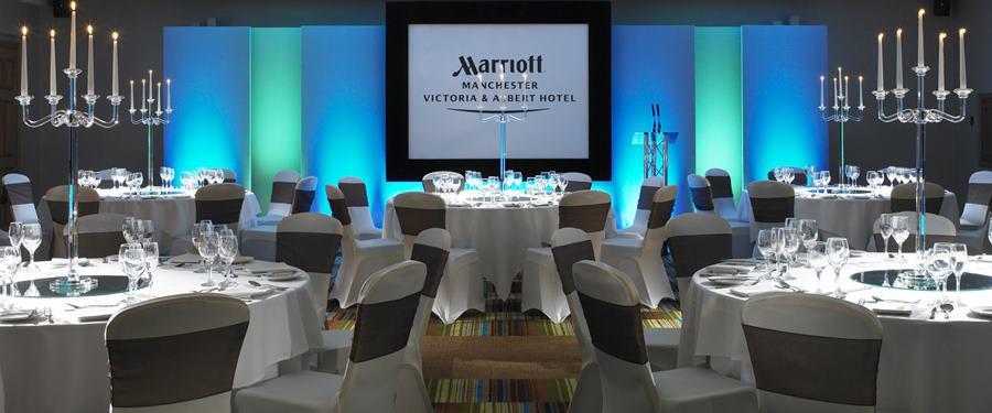 Hire Space - Venue hire John Logie Baird Suite at Victoria and Albert Marriott Hotel