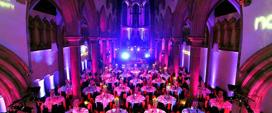 Hire Space - Venue hire Great Nave at The Monastery Manchester