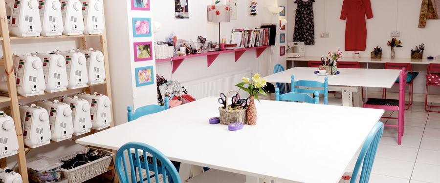 Hire Space - Venue hire Whole Venue at Sew Over It