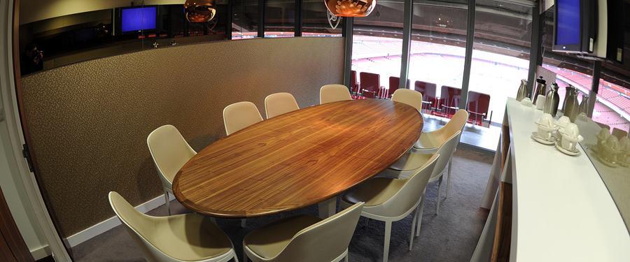 Hire Space - Venue hire Executive Box at Arsenal Football Club - Emirates Stadium