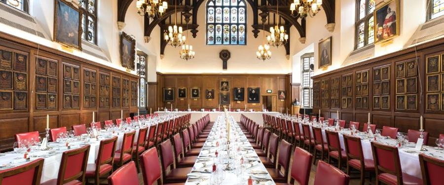 Hire Space - Venue hire The Hall at The Honourable Society of Gray's Inn