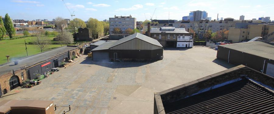 Hire Space - Venue hire Brick Lane Yard at The Old Truman Brewery