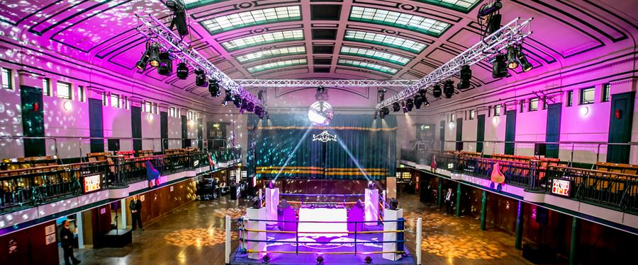 Hire Space - Venue hire York Hall at York Hall