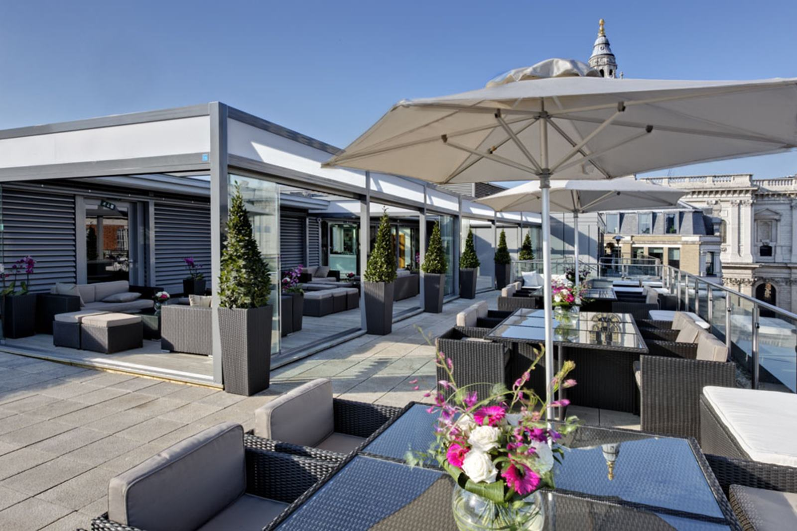 Rooftop Bar London Hire Space
