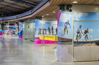 Photo of Concourse Pods at Lee Valley VeloPark