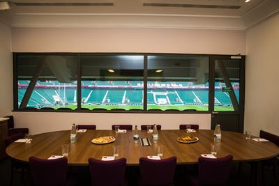 Photo of Executive Boxes at Twickenham Stadium