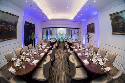 Photo of President's Suite at Twickenham Stadium