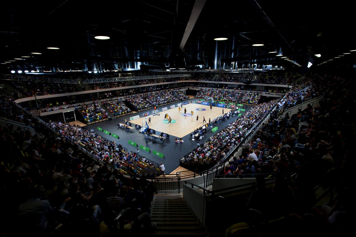 Copper Box basketball