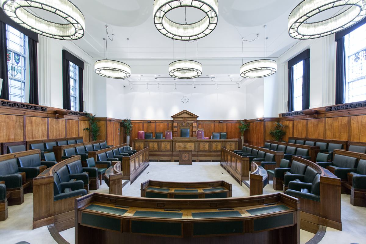 Town Hall Hotel Council Chamber