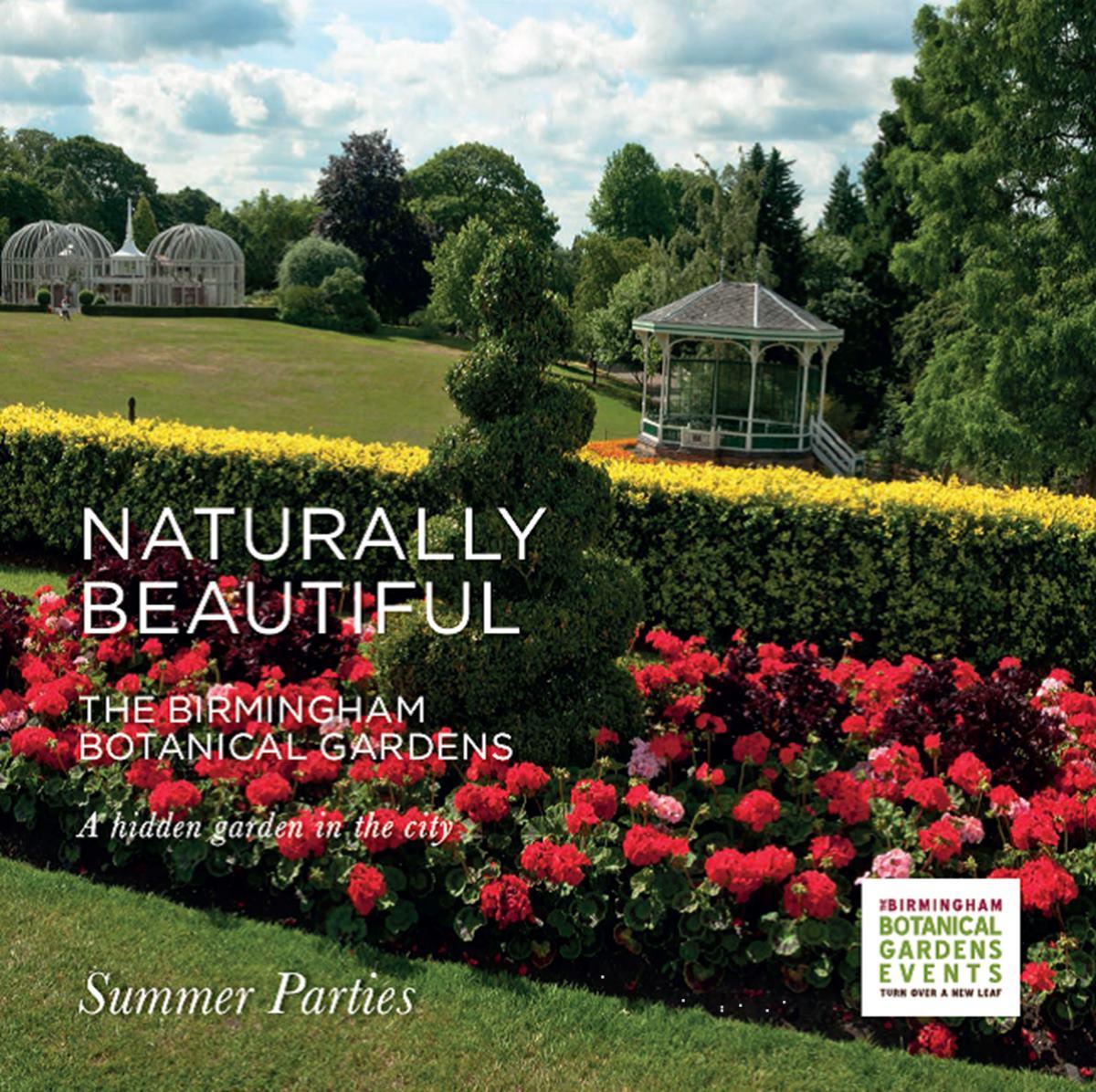 Summer Parties Events Birmingham Botanical Gardens
