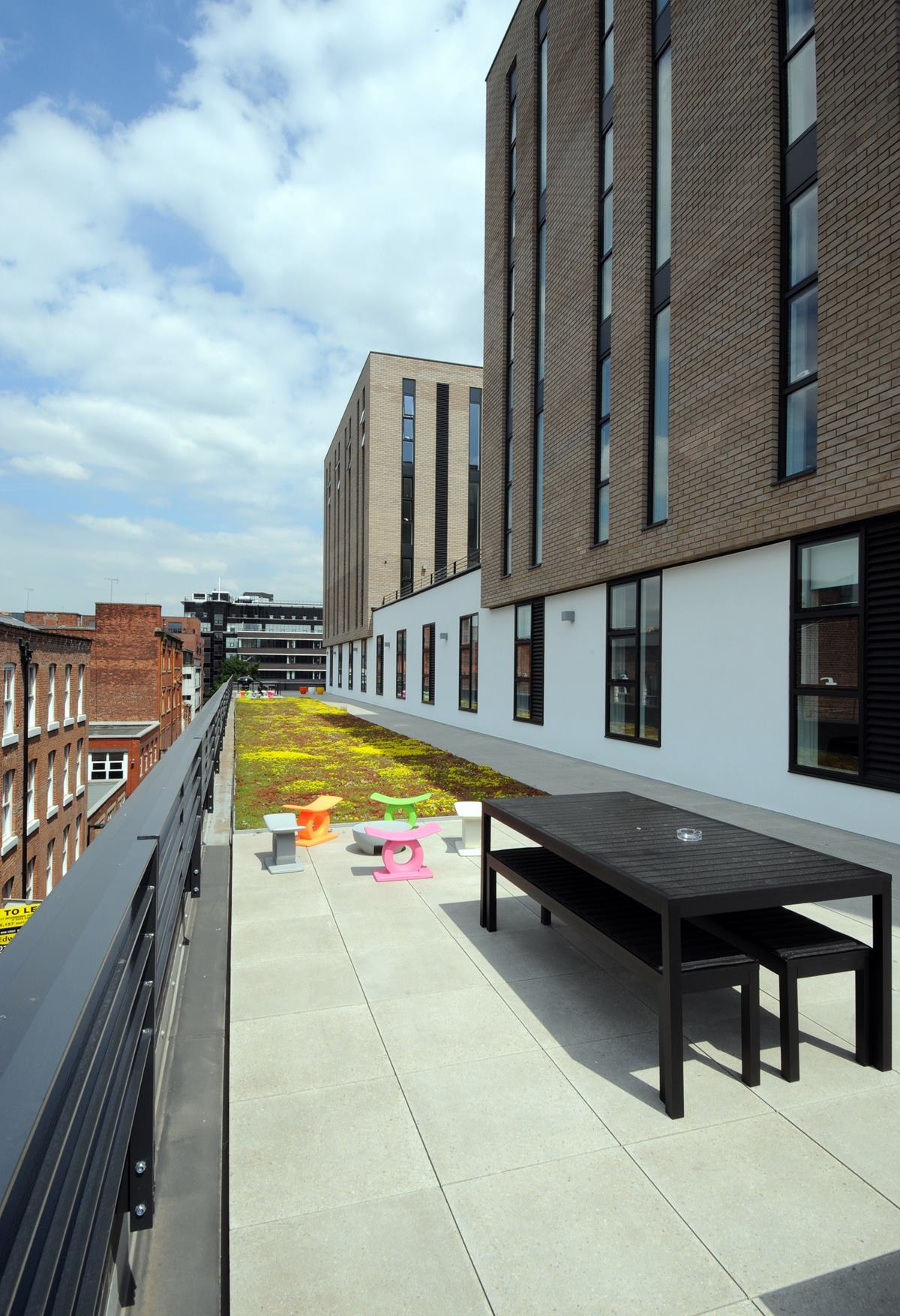 Roof terrace dining hire thestudio manchester for Terrace northern quarter