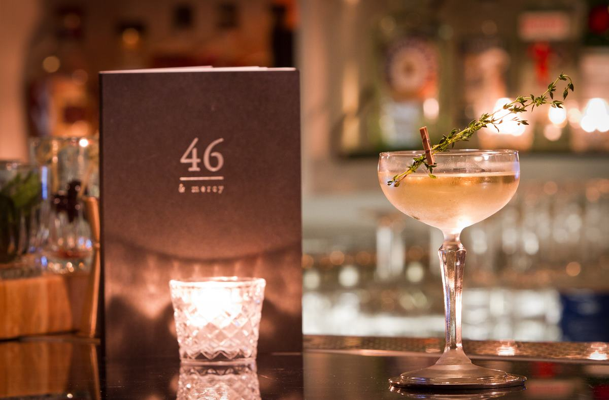 46 and Mercy cocktails