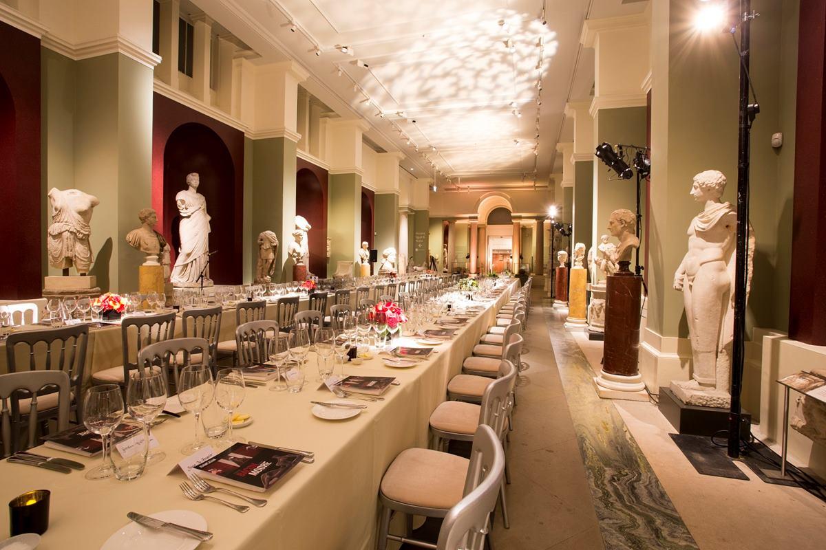 Randolph Sculpture Gallery | Dining | Ashmolean Museum