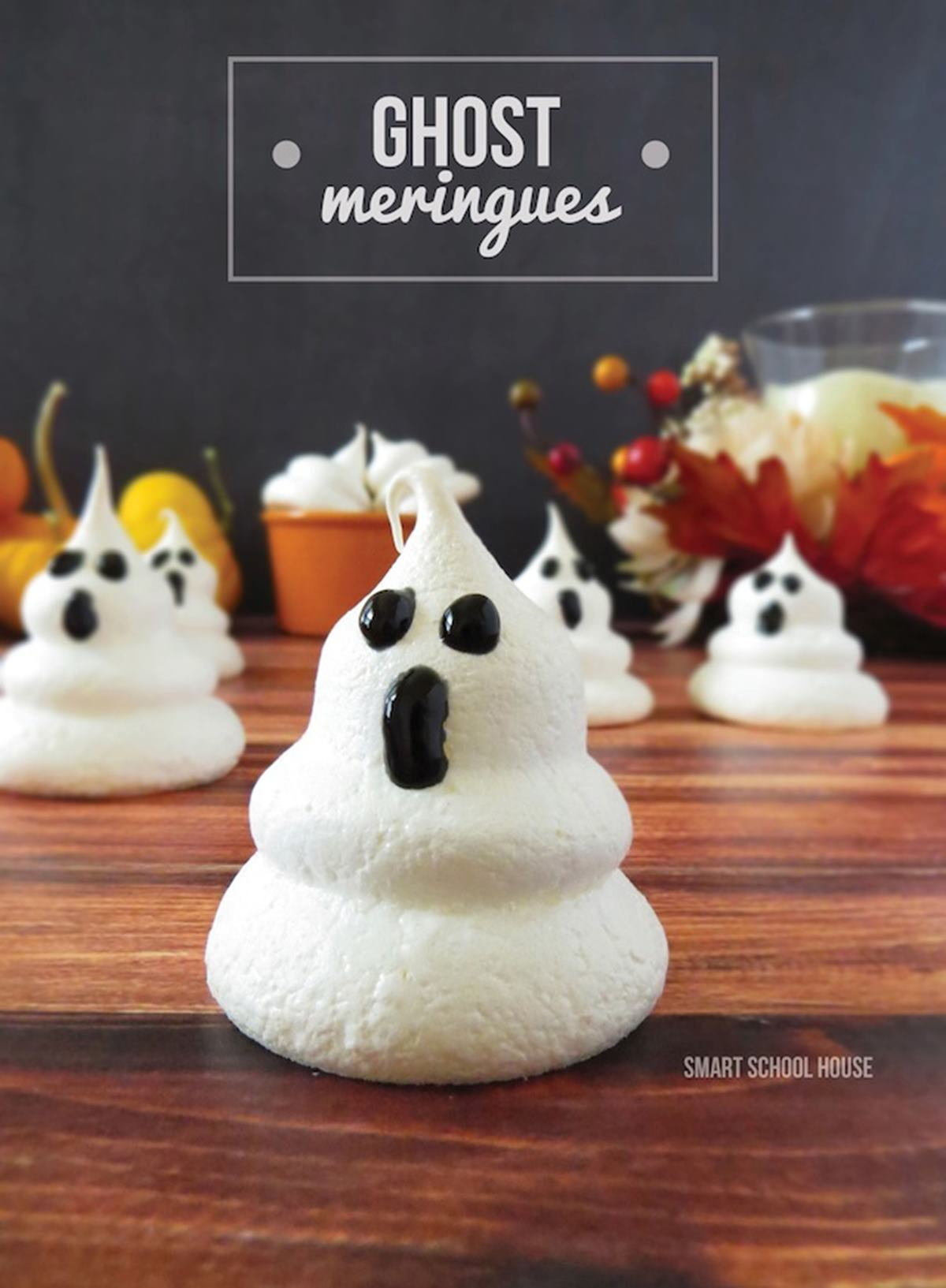 Ghost Meringues