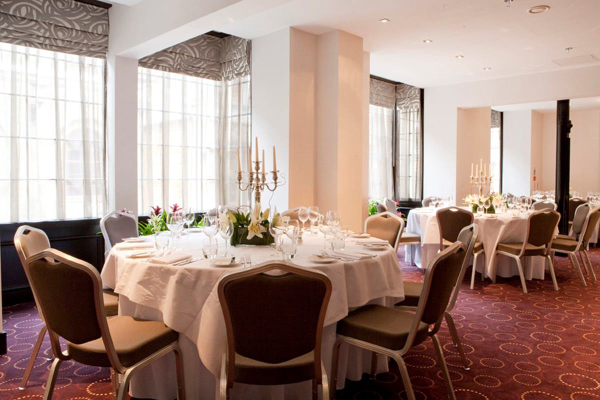 samuel room   dining   chiswell street dining rooms