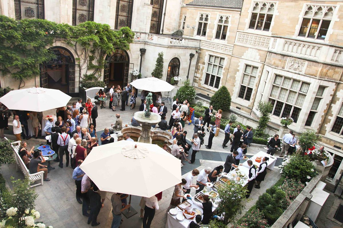 Summer at Merchant Taylors' Hall