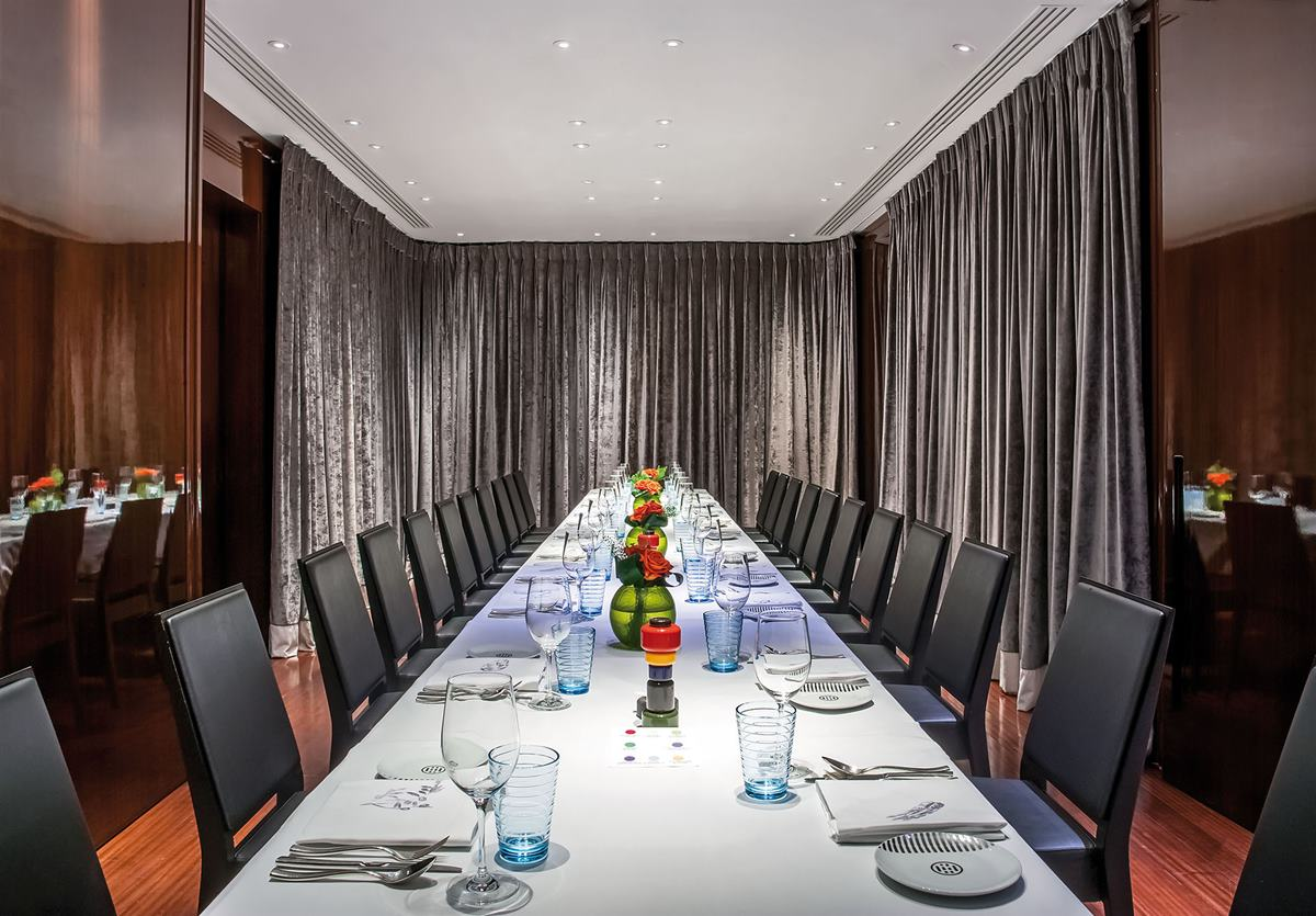 Bulgari Hotel Private Dining