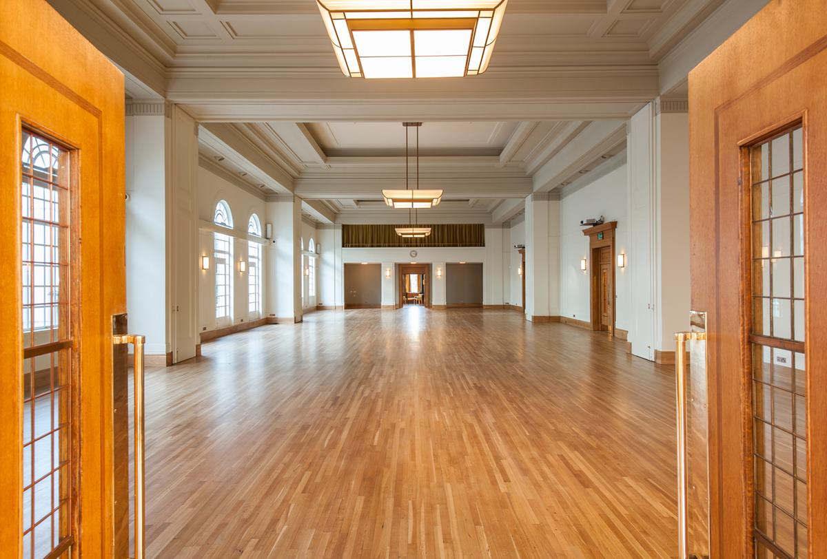 Hackney Town Hall Dance Floor