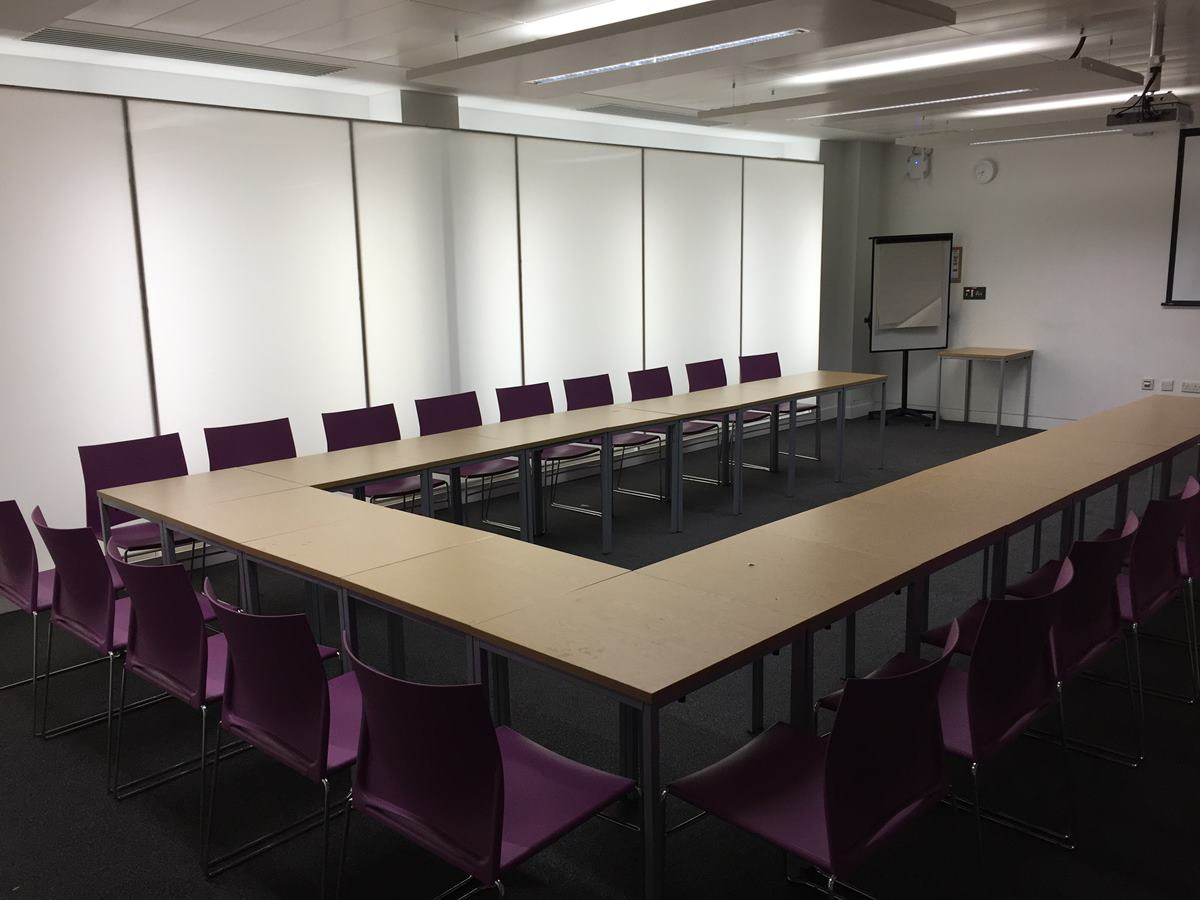 Queen Mary University meeting room