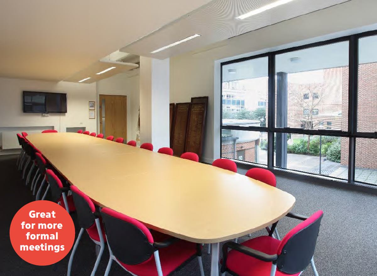 Queen Mary University small meeting room