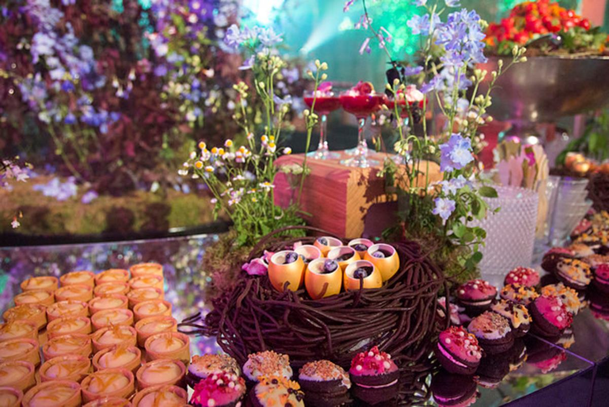 Zafferano dessert table