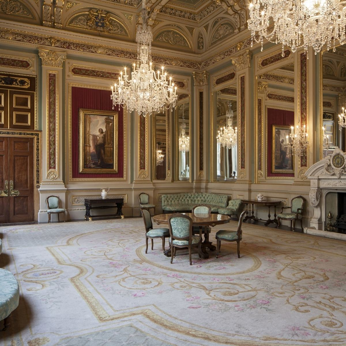 Drawing Room & Court Dining Room