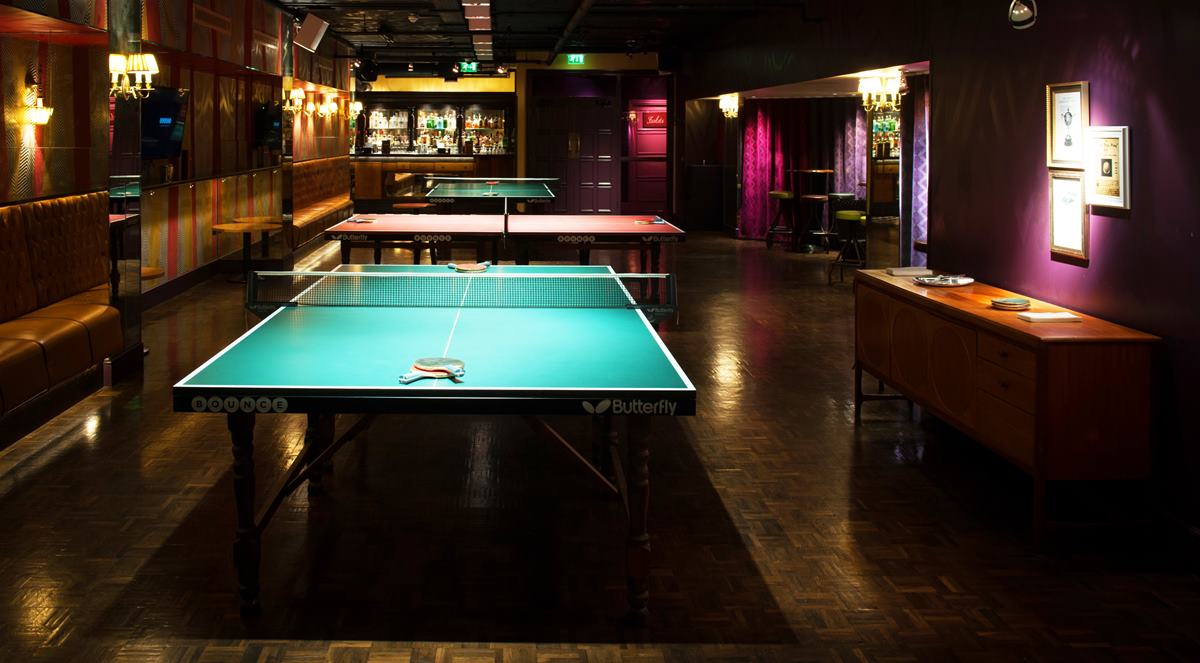 Bounce ping pong tables hire