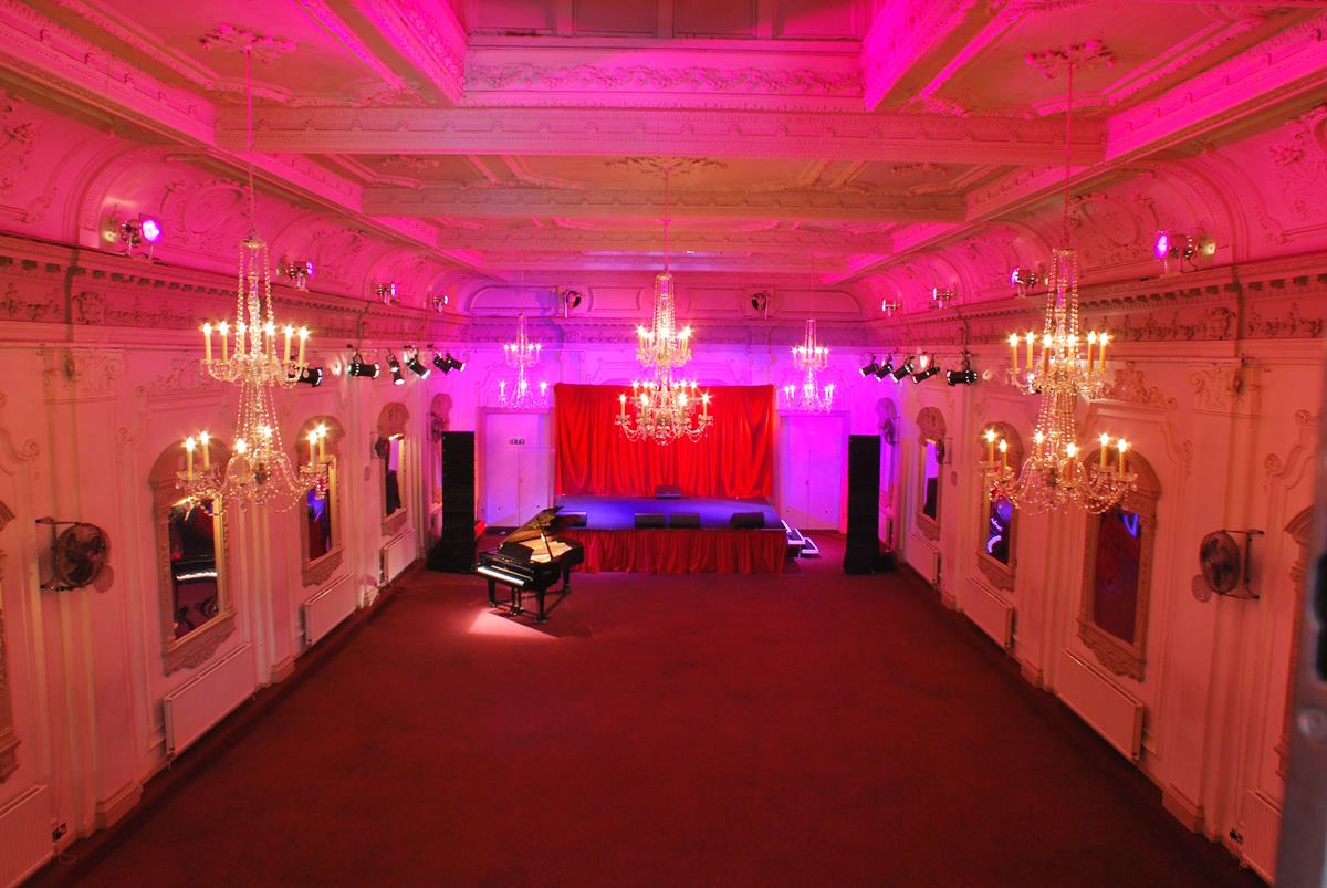 Main space at Bush Hall