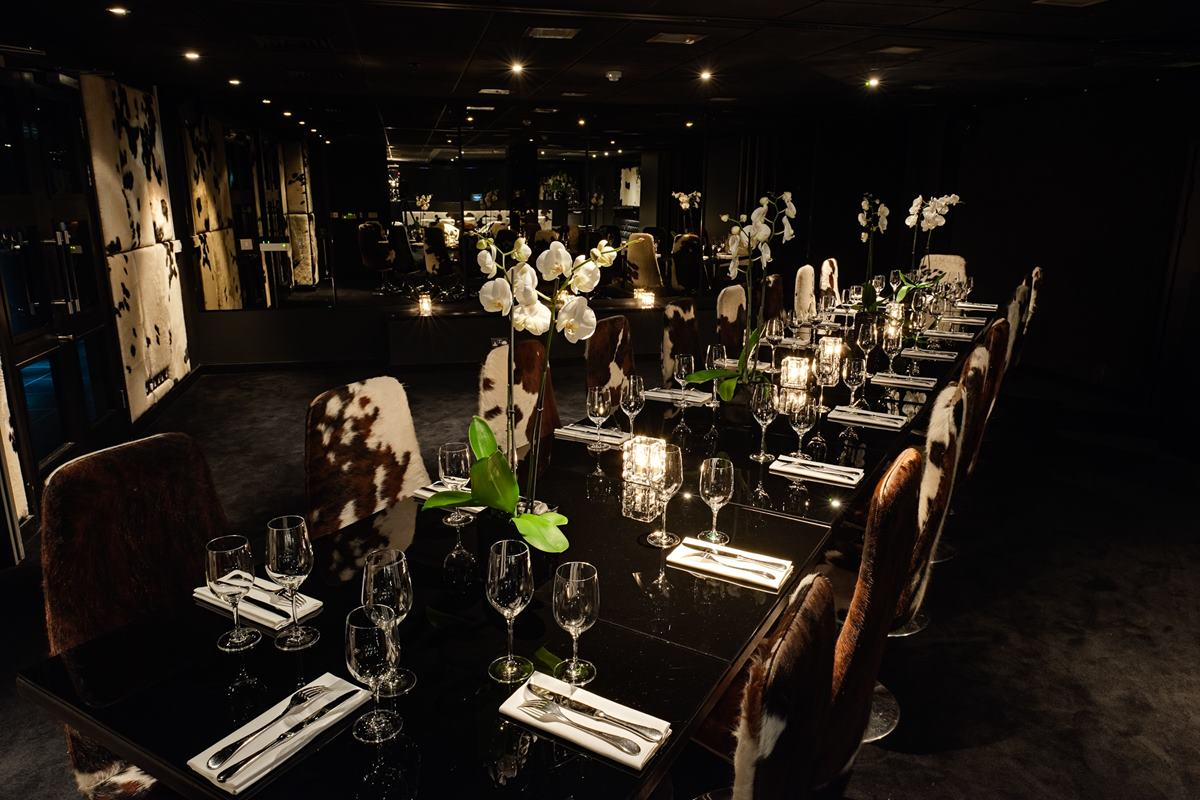 Private dining rooms 1 and 2 dining gaucho city for Best private dining rooms city of london