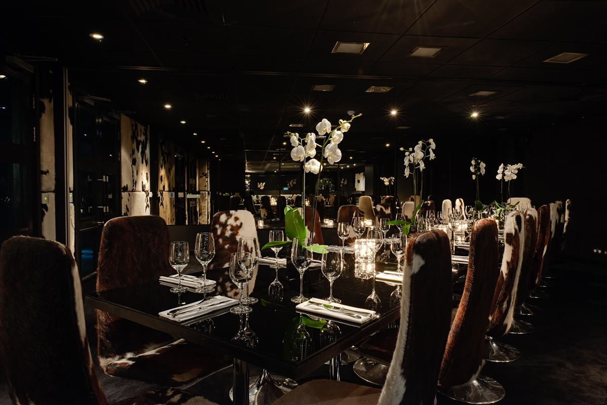 Private dining rooms 1 and 2 dining gaucho city for Best private dining rooms central london