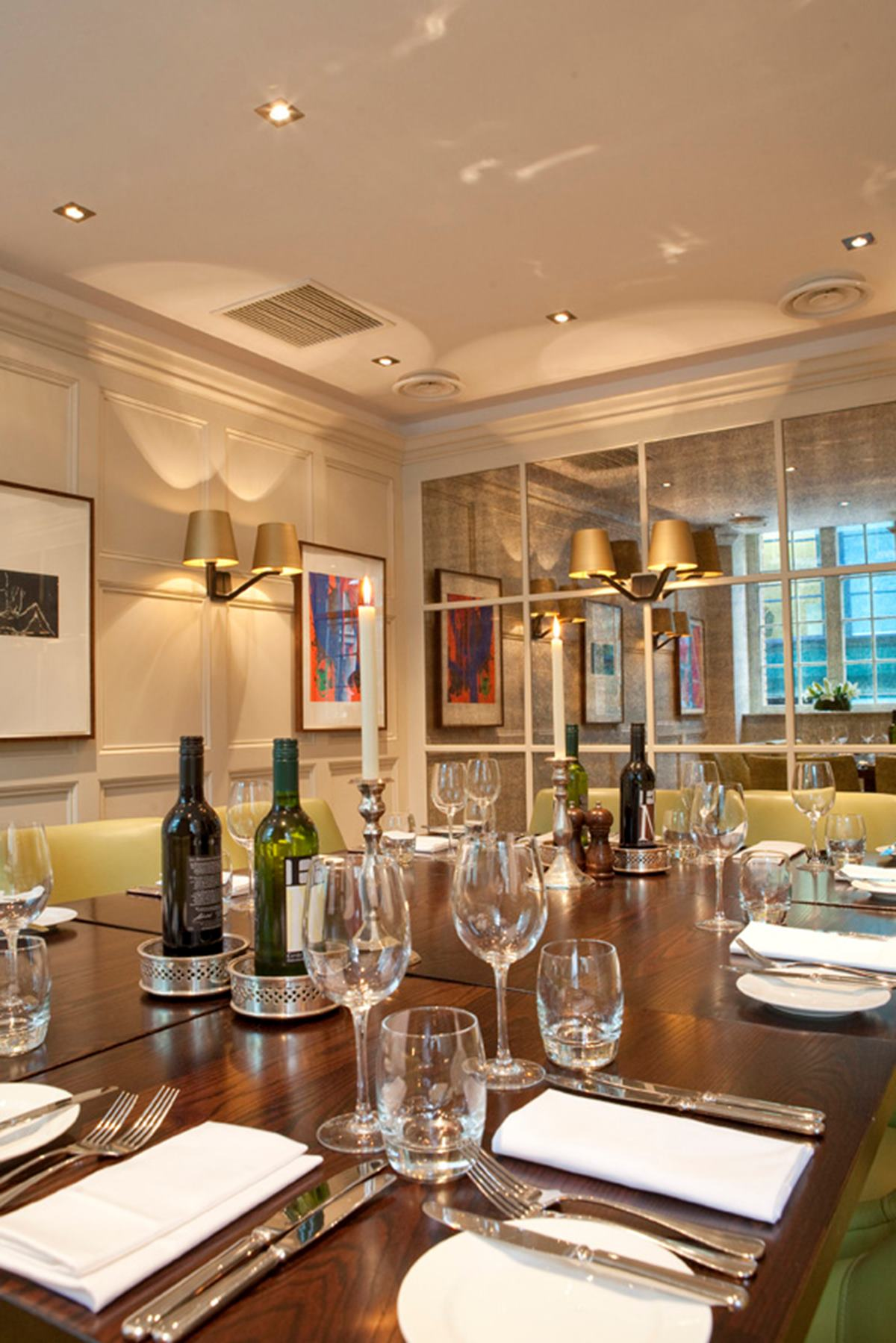 grubb street private room | chiswell street dining rooms
