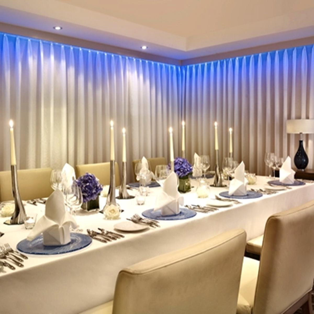 Hotel Dining Room: The Chelsea Harbour Hotel